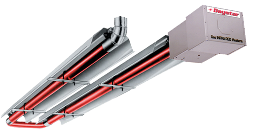 daystar infared stainless steel tube heaters