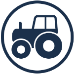 agricutural operations industry icon