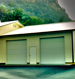 insulated washbay garage door